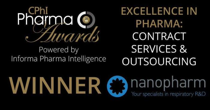 Aptar Pharma's Nanopharm wins Excellence in Pharma Award for SmartTrack